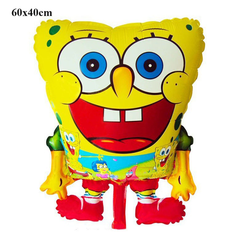 classic toy air balloons birthday wedding decoration sponge bob party balloon inflatable helium spongebob foil balloons