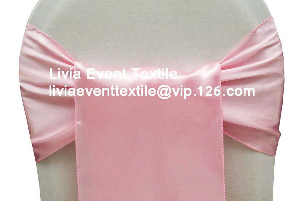 100pcs Satin Sashes ,Wedding Chair Sashes ,Satin Chair Sash&Satin Sash Bow For Wedding Events &Party Decoration