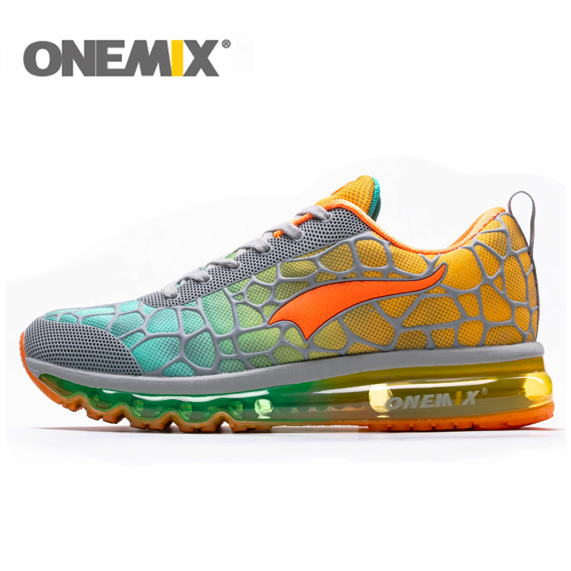 ONEMIX Air Cushion Running Shoes Mens 270 Zapatos De Hombre Athletic Outdoor Women Sneakers Max 12