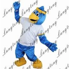 Горячая Распродажа Спортивный Синий ростовой костюм орла взрослый размер для Хэллоуина костюмированное платье костюм 2019New