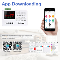 LCD Touch GSM Alarm Wireless IOS/Android APP Control Home Burglar Security Alarm System