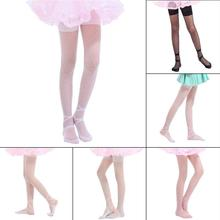 Колготки для танцев в горошек ярких цветов детские колготки для девочек летние тонкие чулки для девочек балетные колготки в горошек колготки 3 размера