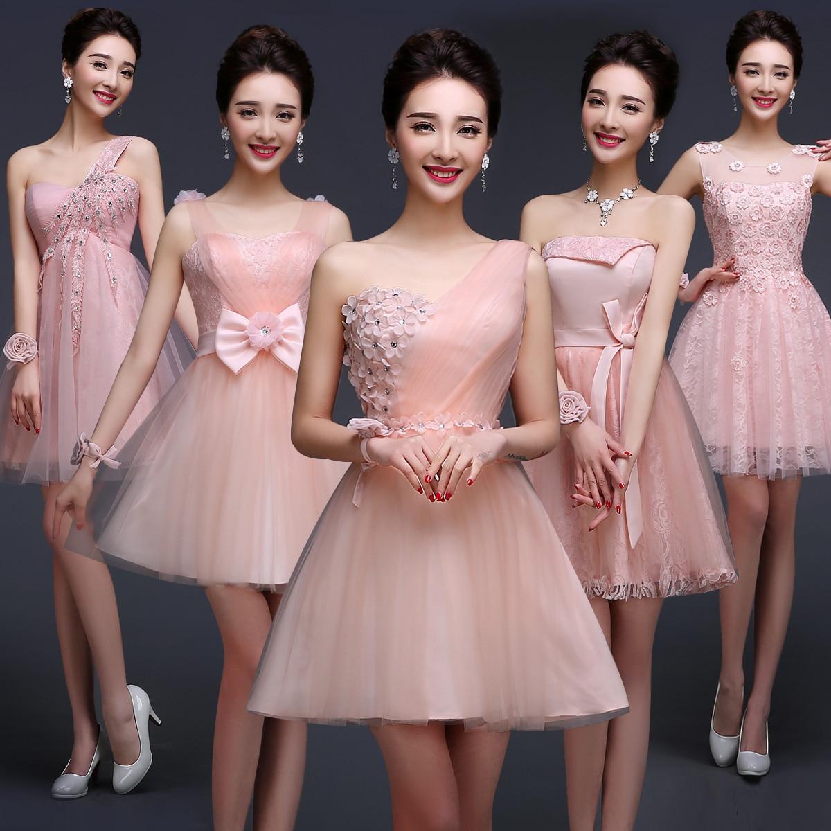 Asombroso Lindo Vestidos De Dama Baratos Motivo - Colección de ...