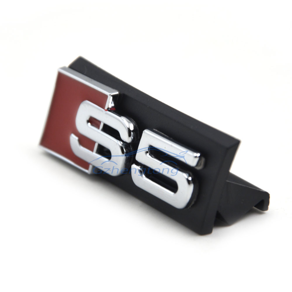 Auto Decal Modified Accessories Universal 3D S5 Logo Car Styling Front Hood Grille Emblem Badge Stickers for Audi S5 S Series цена и фото