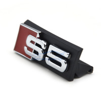 Auto Decal Modified Accessories Universal 3D S5 Logo Car Styling Front Hood Grille Emblem Badge Stickers