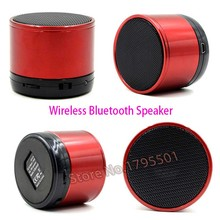 50Pcs/lot Wireless Bluetooth Speaker Portable Speaker Music Player Home Audio for iPhone iPad ipod Samsung HTC BlackBerry Phone