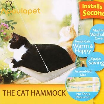 APAULAPET TV Window Mounted Cat Bed