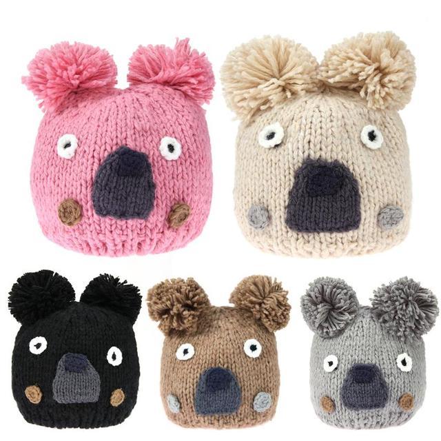 70a2605c3538 amazing price 742a3 21b0c babys plush hat lovely cartoon designed ...