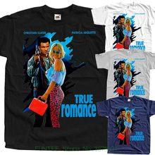 866115c7e T Shirt Men Loose Size Tshirt True Romance V1 , Movie Poster , T Shirt Black  Zink White All Sizes S To 5xl