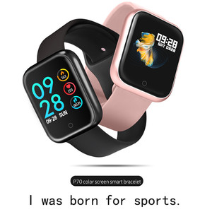 Image 2 - Theo Dõi Vòng Tay P70 Smart Watch Ban Nhạc Huyết Áp Đồng Hồ IP68 Chống Nước Nâng Cấp P68 Nhanh Tàu Cho Dropshipping