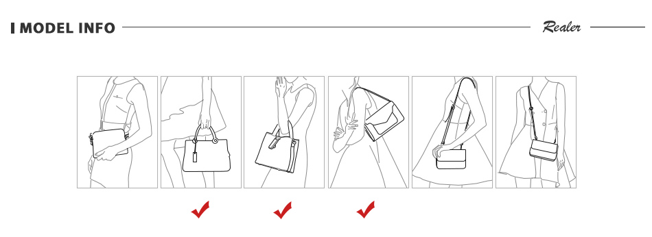 Mais real bolsas femininas macio couro artificial