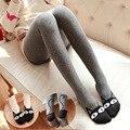 NUEVO Otoño invierno de la muchacha Delgada MEDIAS opacas pantyhose de Las Mujeres medias de algodón de moda encantador lindo medias ENVÍO GRATIS