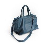 Vendange оригинальный ретро натуральная кожа сумки большой емкости Повседневная сумка женская сумка 2484