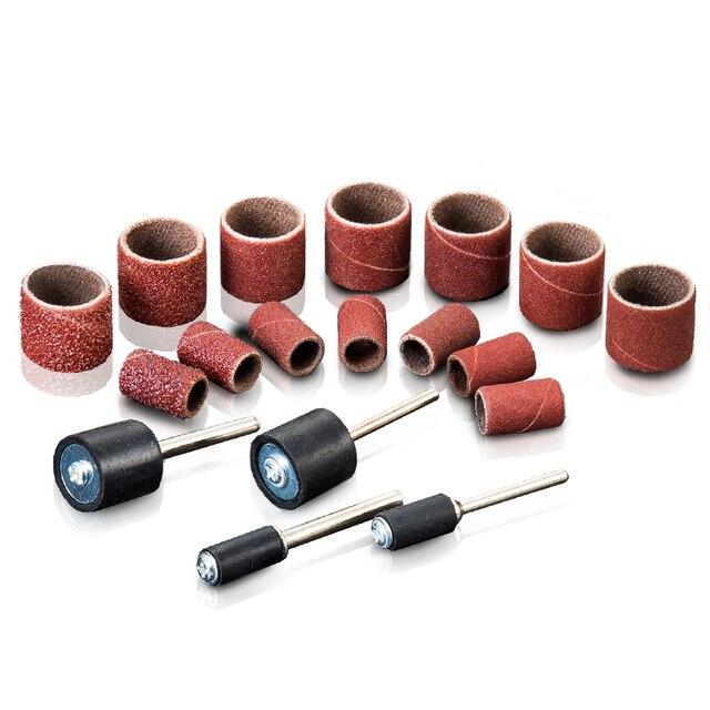 Hot Sale 100pcs Electric Grinding Sandpaper Polishing Nails For Dremel Rubber Drum Mandrel Metal Derusting Wood Polishing Tool