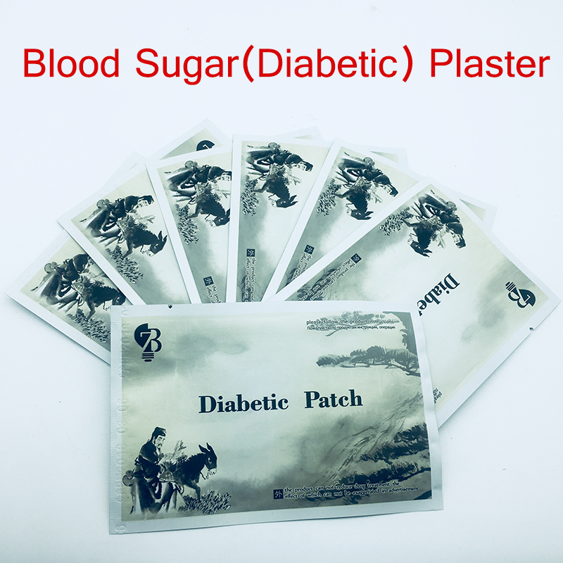 100PCS Blood Sugar Diabetic Patch Chinese Natural Herbal Blood Glucose Cure Diabetic Patch Diabetes Treatment Product