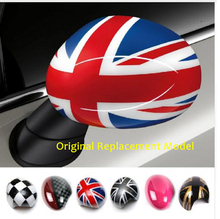 Outside Door Rearview Mirror Decoration Protector Shell Cover Housing For Mini  One S JCW F56 F55 Car-styling Accessories