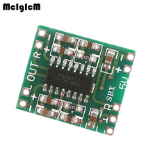 MCIGICM 500pcs PAM8403 module Super  board 2 * 3W Class D digital amplifier board efficient 2.5 to 5V USB power supply