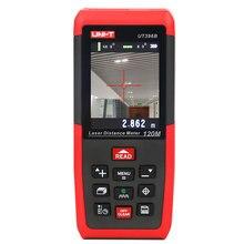 UNI T UT396B 레이저 거리 측정기 120m 레이저 거리 측정기 2MP 카메라 Lofting 테스트 레벨링 장비 면적/볼륨 데이터 저장