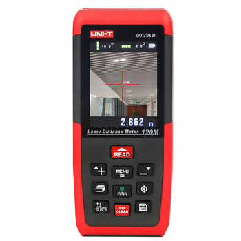 UNI-T UT396B Laser Distance Meters 120m laser rangefinder 2MP Camera Lofting Test Levelling Instrument Area/Volume Data Storage - DISCOUNT ITEM  51% OFF All Category