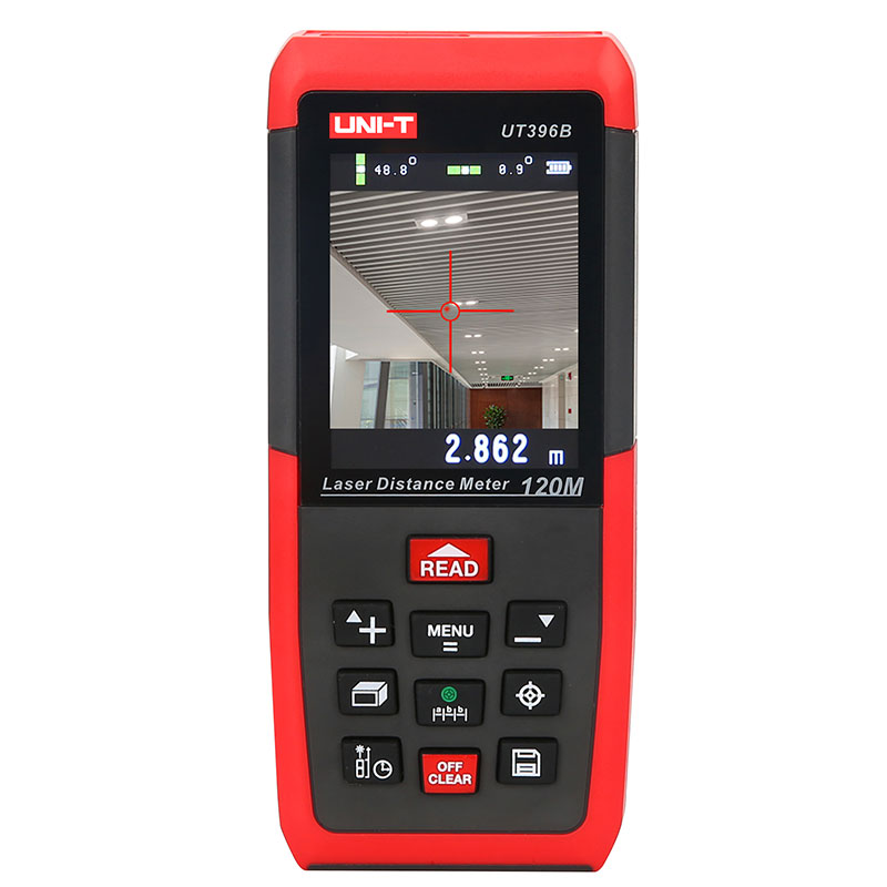 UNI-T UT396B Laser Abstand Meter 120 m laser-entfernungsmesser 2MP Kamera Lofting Test Nivellierung Instrument Bereich/Volumen Daten Lagerung