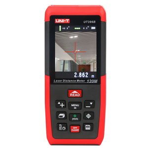 Image 1 - UNI T UT396B lazer mesafe ölçer 120m lazer telemetre 2MP kamera Lofting Test tesviye enstrüman alan/hacim veri depolama