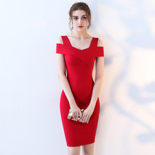 2018 Summer Bandage Design Wear To Work Office Fitted Pencil Women Red Elegant  Classy Patchwork Party c3d32b44604a