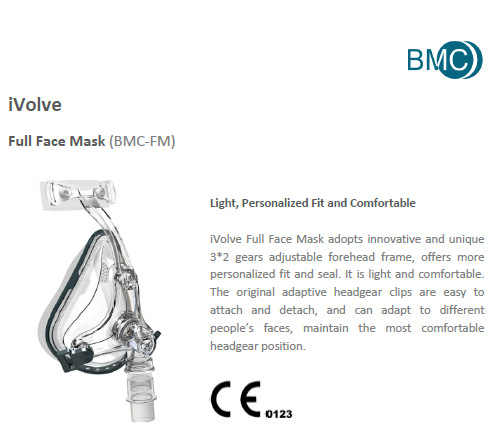 Doctodd FM1 Tam Yüz Maskesi CPAP Otomatik CPAP BiPAP Maskesi Ile Ücretsiz Başlık Beyaz S M L Uyku Apnesi OSAHS OSAS Horlama Insanlar