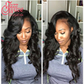 Peruvian Virgin Hair Loose Wave With Closure 3 Bundles With Frontal 8a Grade Peruvian Loose Wave With Lace Frontal Closure Brown