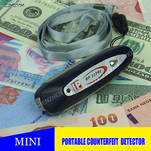 Hot selling DP-323BE New portable magnetic detector Mini key Counterfeit Money Detector 2 in1 Keychain