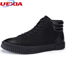 UEXIA Driving Shoes Men Comfortable Men Sneakers Men's Footwear Luxury Brand Shoes Fashion Casual Chelsea With Round Toe Leather