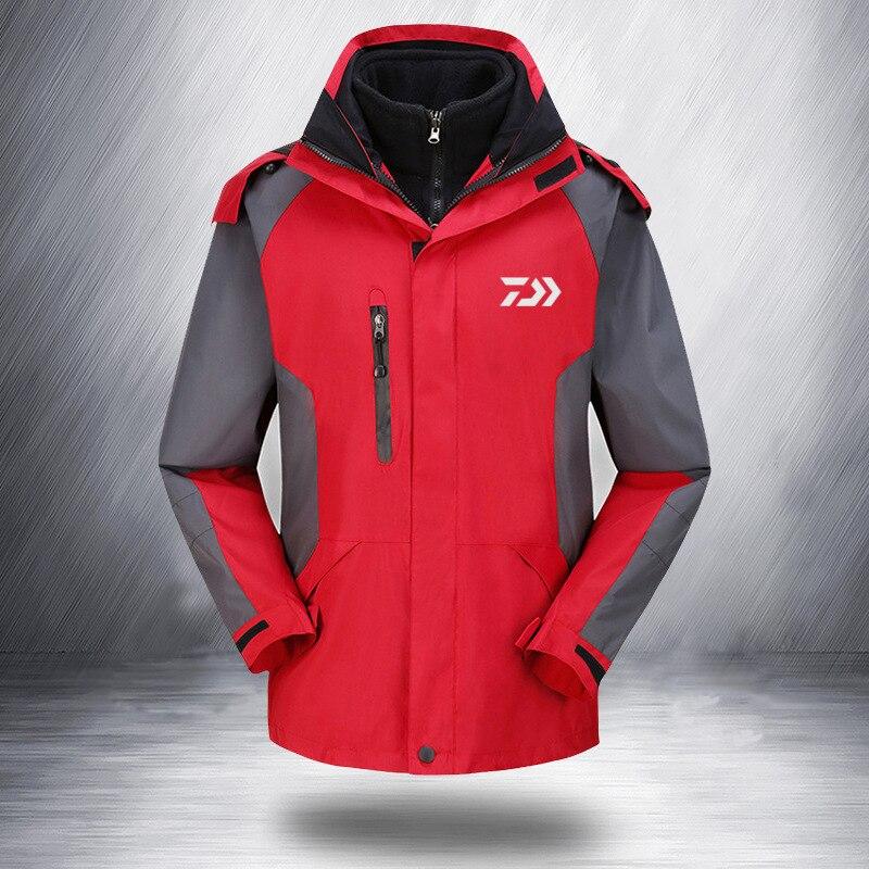 e111a2bdf 2019 ropa Daiwa verano deportes Polo Tee pesca camiseta Patchwork  transpirable al aire libre pesca camiseta