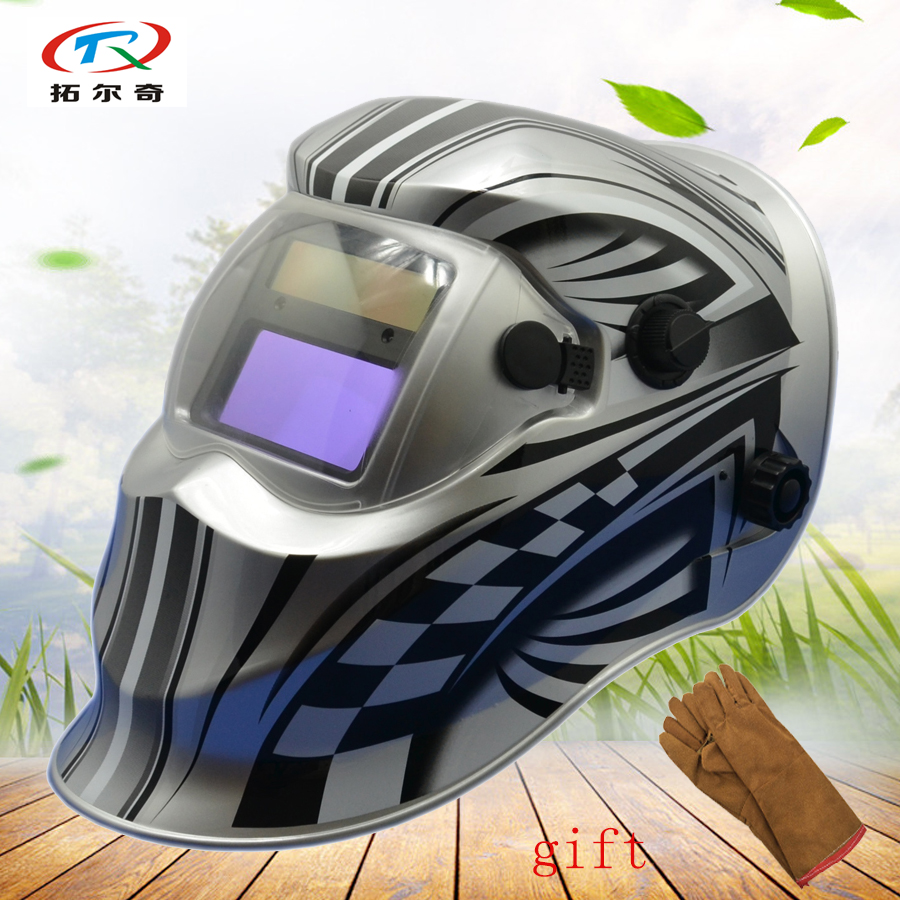 Responsible Automatic Helmet For Welding Silver Auto Darkening Welding Mask Tig Mig Gloves Solar Power Battery Factory Made Kd01 2200de y A Plastic Case Is Compartmentalized For Safe Storage