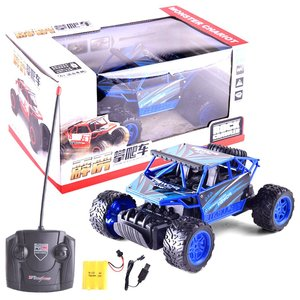 abay 2019 hot Remote Control 4 Wheels Toy Car Anti-slip Children Gifts Cross Country Simulation 1:16 Car Toy FH-32