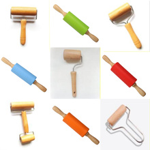 Peter ren Diamond Painting Cross Stitch Tools Wooden Roller DIY embroidery Accessories Sticking Tightly
