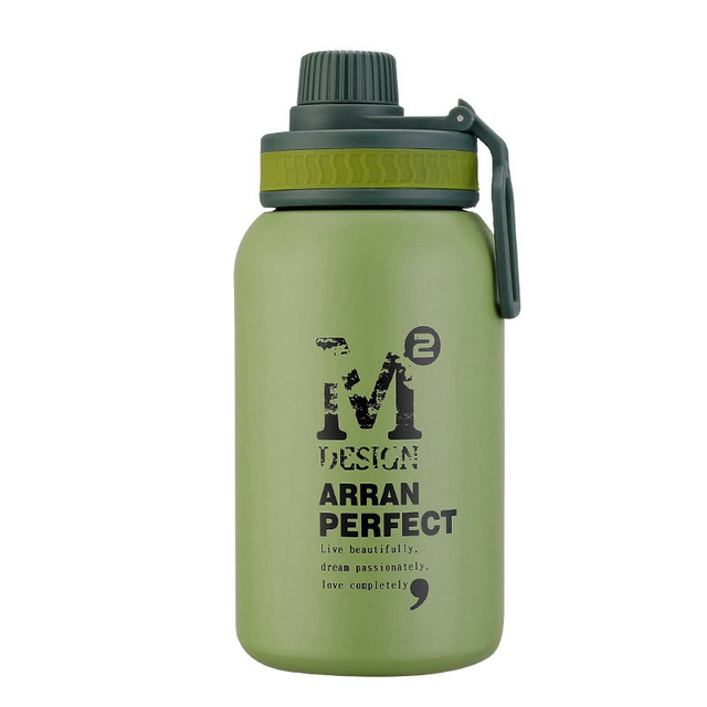 580ML/880ML Double wall Vacuum Stainless steel sports water bottle creative BPA free healthy car driving thermal water bottle 2