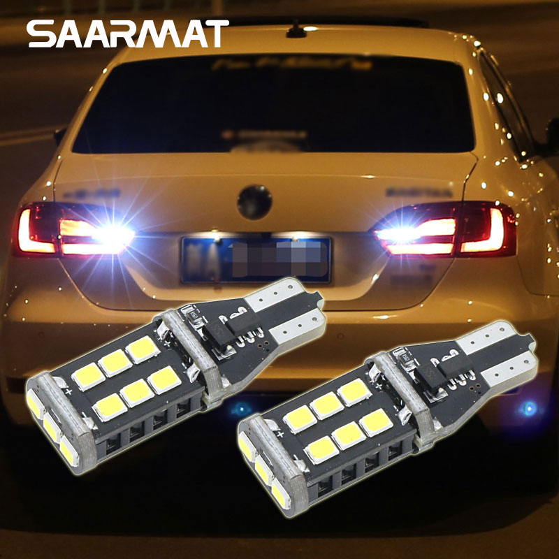 2x VW Sharan MK1 Ultra Bright White 24-LED Reverse Light Lamp High Power Bulbs