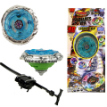 kids Beyblade Double Tops New Launcher For Beyblade Metal Fusion Spinning Top Toys competitive Launchers