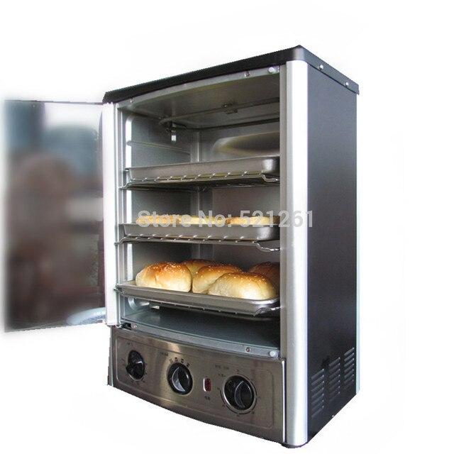 Peralatan Listrik Vertikal Multifungsi Oven Tungku Ayam Pizza Pemanggang Roti Komersial Rumah Tangga Dapur