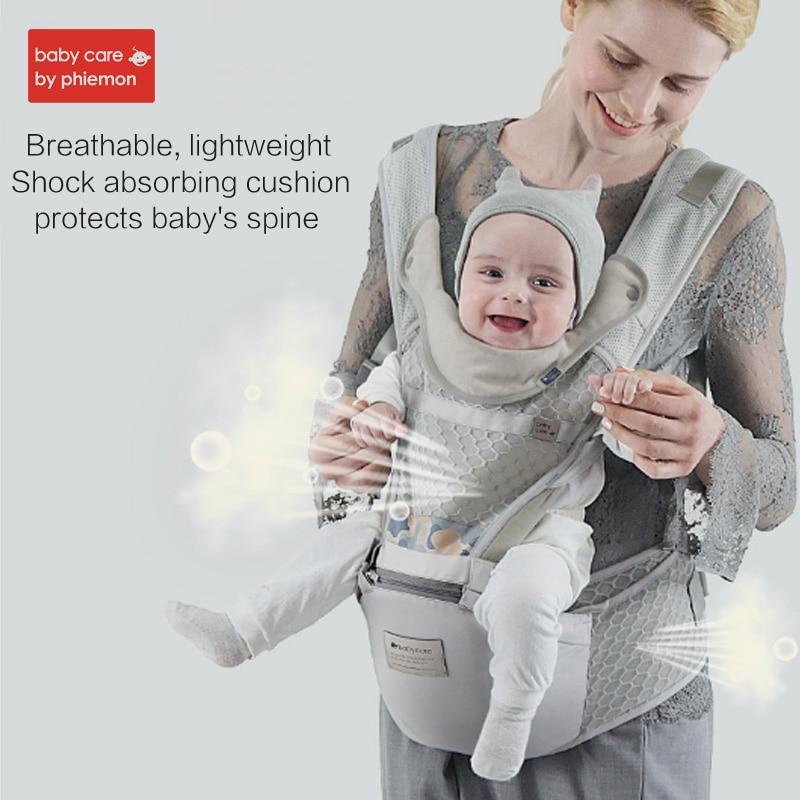 Babycare porte-bébé marcheurs bébé fronde ceinture de maintien ergonomique sac à dos pour bébé pochette wrap multifonctionnel bébé kangourou
