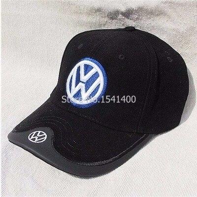 Prix pour Nouveau arrivé Vw das auto coton casquette de baseball chapeau bleu foncé 4 couleurs VW Caps Souvenirs