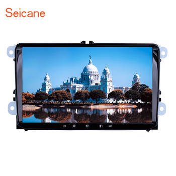 Seicane 2Din 9 Android 9.1 Car Radio Auto Multimedia For VW Universal SEAT LEON Golf Passat b5 b6 CC Sharan Polo Skoda Magotan image