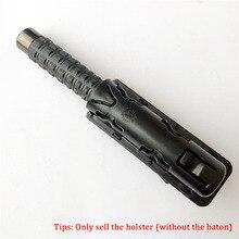 360 Graden Rotatie GAS Baton Holster Extensible Black Baton Houder Case Pouch voor outdoor politie baton telescopische zelfverdediging