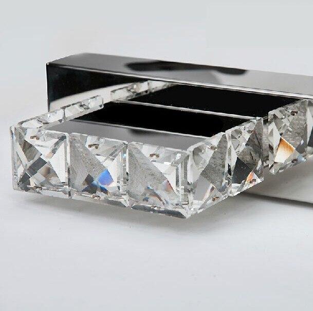 Aplique moderno de cristal para pared, lámpara de pared para baño, accesorios de luz LED para espejo para el hogar, iluminación interior, lámpara de pared - 3