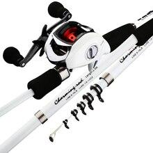Ultealight карбоновая удочка комбинированная приманка для кальмара, литая Удочка с портативной телескопической удочкой для путешествий, лодка, рыболовная палка для басов, карпа