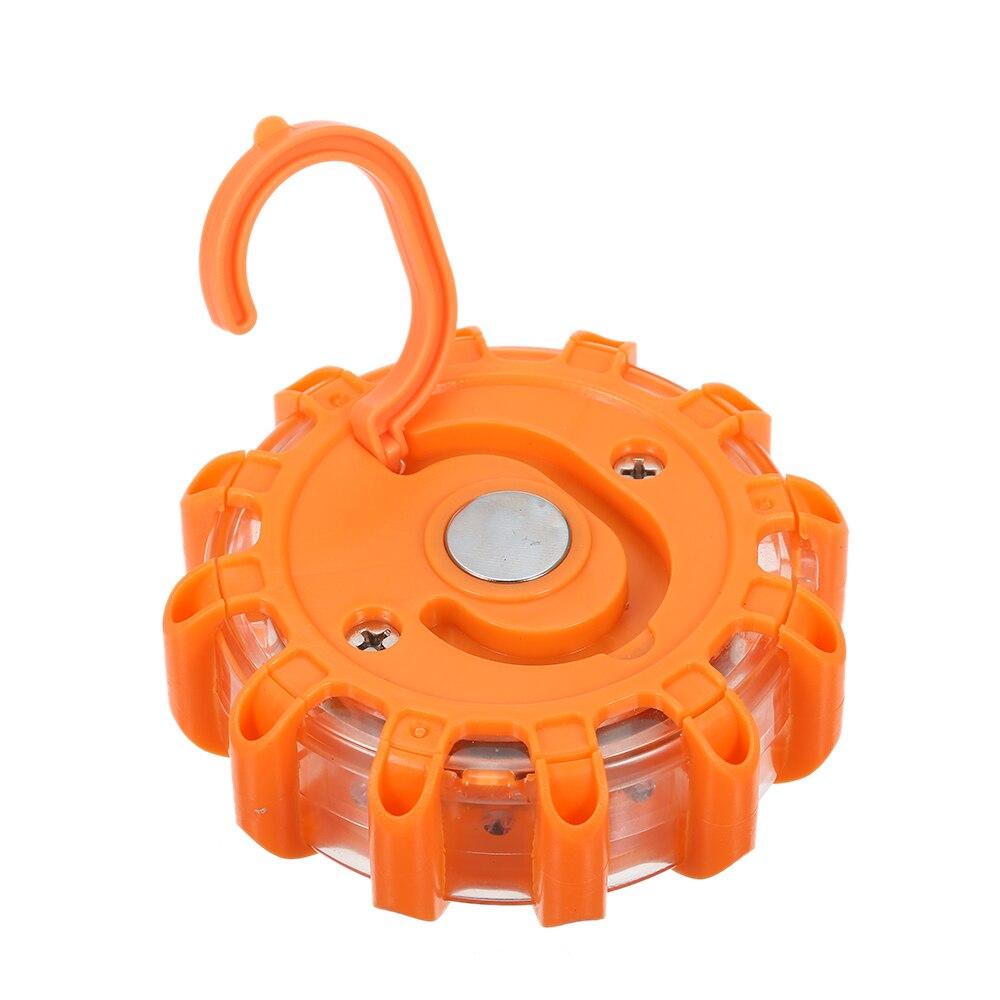 12V Magnetic Amber Beacon Off Road Emergency Light Lamp Rotating flashing orange