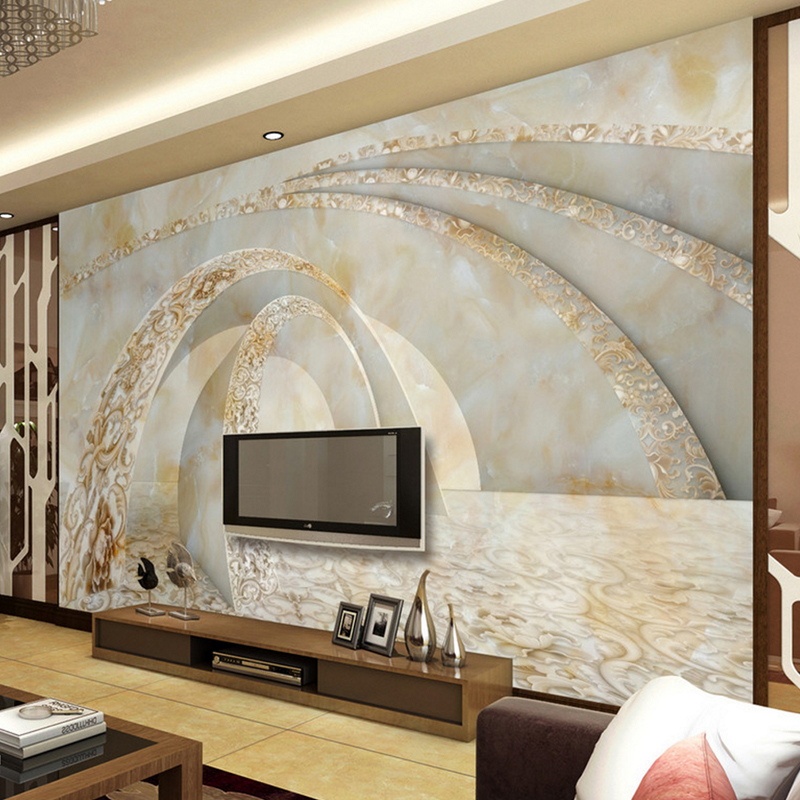 Custom Large Murals 3d Stereoscopic Abstract Painting Wallpaper for Living Room Bedroom TV Sofa Background Hotel Lobby wallmural custom 3d stereoscopic large mural space living room sofa bedroom tv backdrop 3d wallpaper woods nature