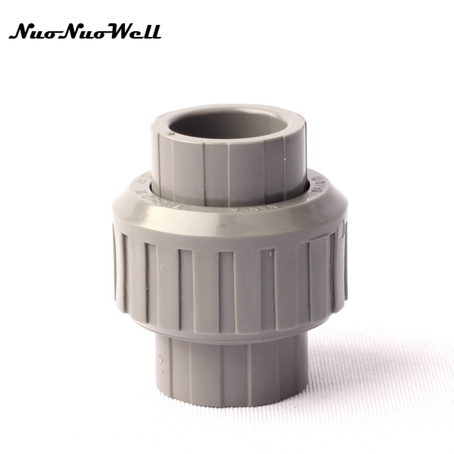 Pcs nuonuowell plastic pvc mm hose union straight