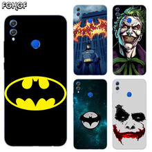 Soft TPU Print Hull Case For Huawei Honor V20 8X 7 8 9 10 lite 7X 8A V9 Play Frosted Fundas Cover Batman Joker Dark Knight