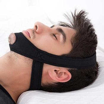 Anti ronco Cinto Aid Aid Chin Bandages Anti Apnéia Maxilar Solução Ajuda para Dormir Mulheres Homens relaxtion L3 anti ronco cinta de queixo