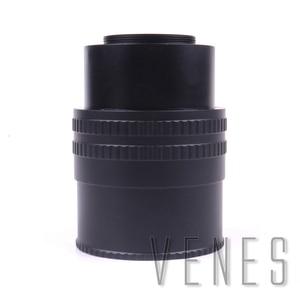 Объектив Pixco M39 для камеры M42, адаптер с регулируемым фокусом и кольцевым адаптером 35-90 мм, Макро Удлинитель, трубка, M39-M42